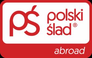 Logo Polski Ślad abroad kolor
