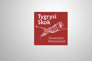 Logo Tygrysi Skok dla TB