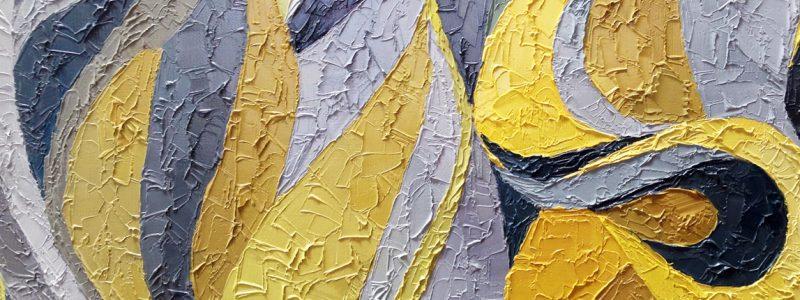 Małgorzata Walisiak obraz żółty