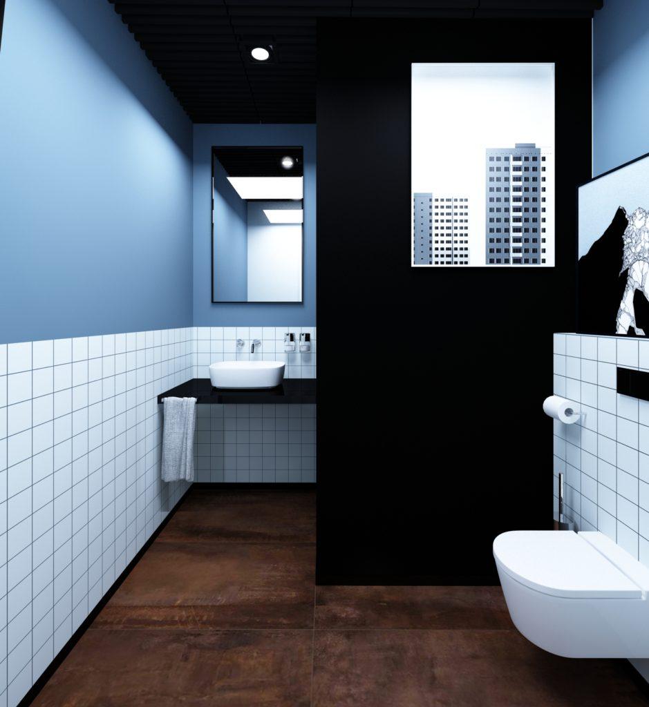 Łazienka w biurze Modern Classic