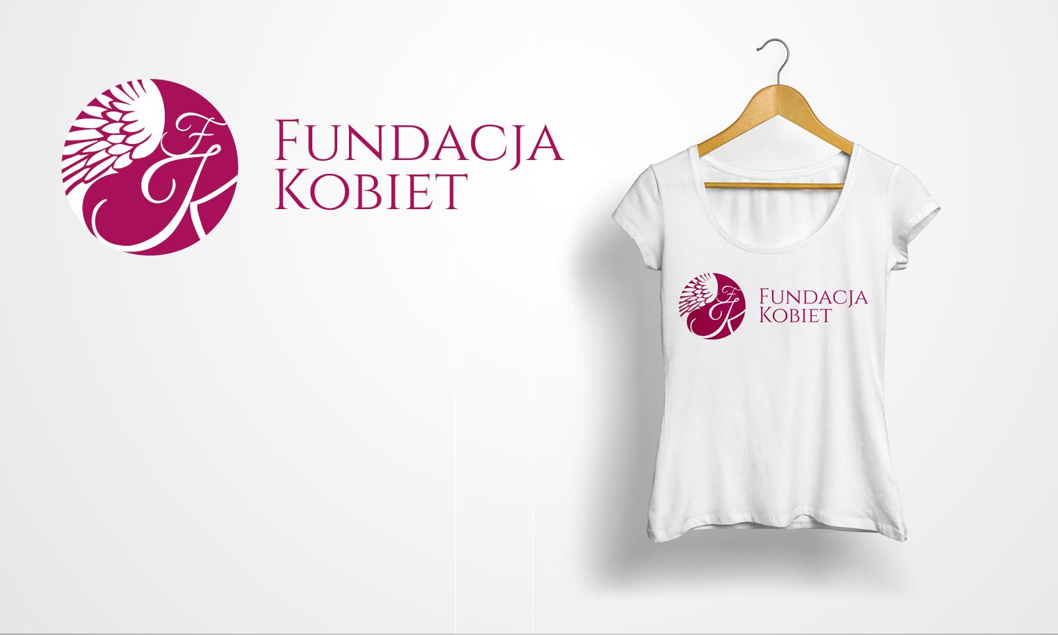 Projekt logo Fundacja Kobiet