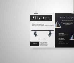 Reklama do prasy - Atria oświetlenie