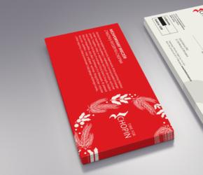 Projekt vouchera DL świąteczny layout