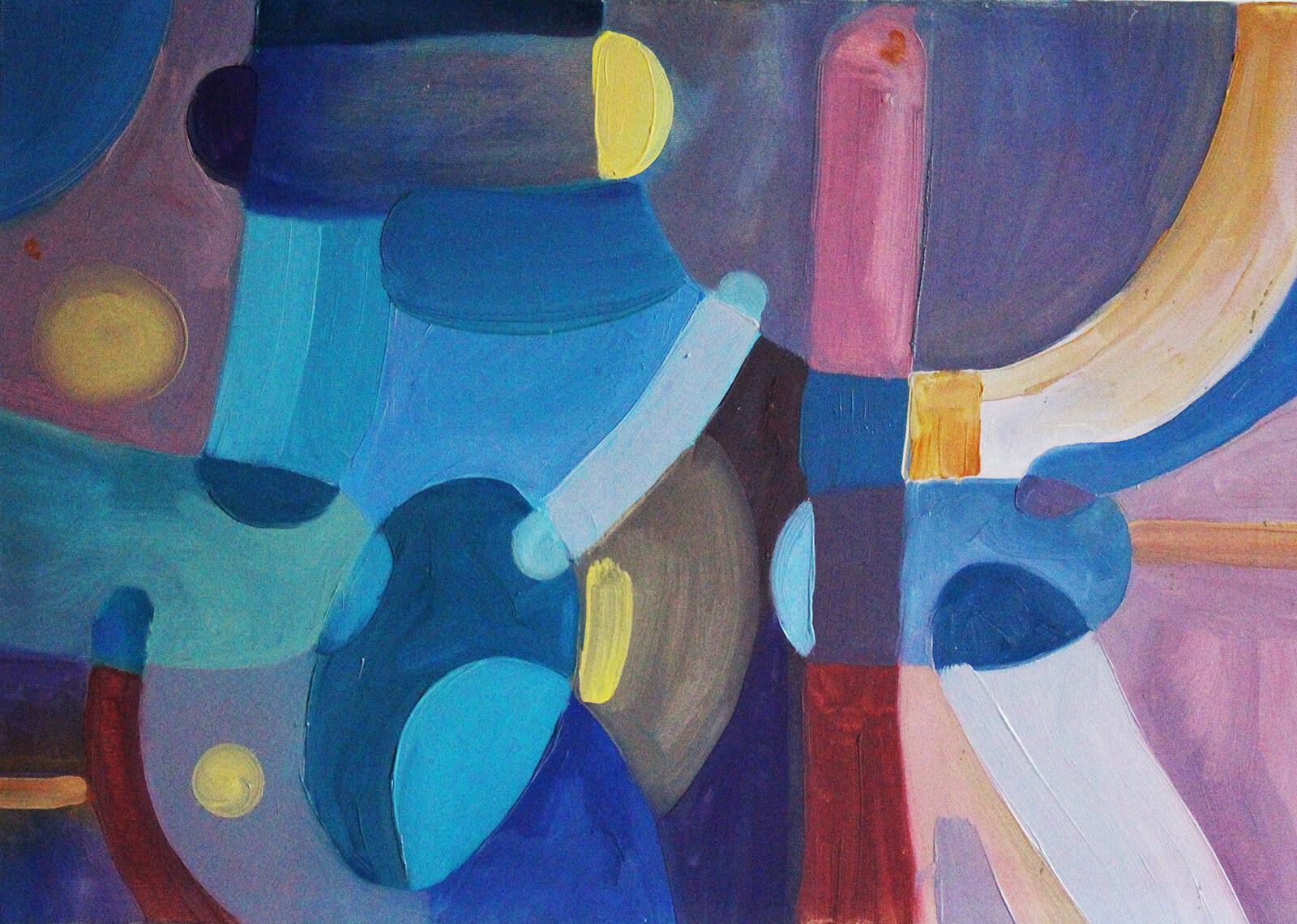 niebieski obraz do salonu (5)
