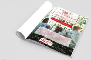 Projekt reklamy A4 do czasopisma