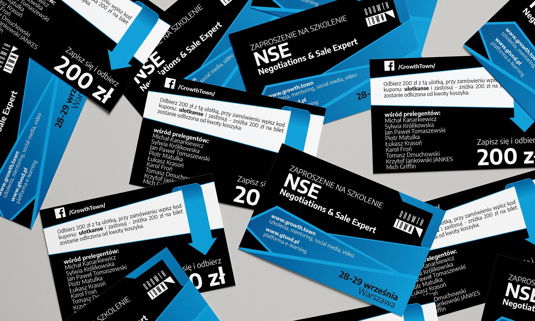 Projekt zaproszenia A7 na konferencję NSE