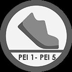 ścieralność płytek ceramicznych PEI 1 - PEI 2 klasa ścieralności I - VPłytki odporne na ścieranie do łazienki