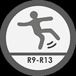 antypoślizgowość płytek ceramicznych R