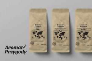 projekt etykiet do kawy herbaty