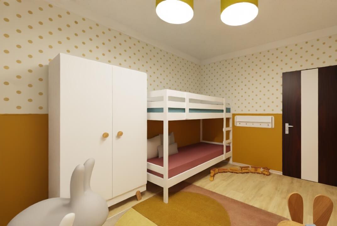 pokój dla chłopca i dziewczynki