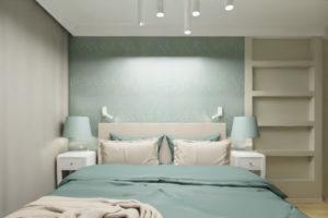 projekt miętowej sypialni warszawa (4)