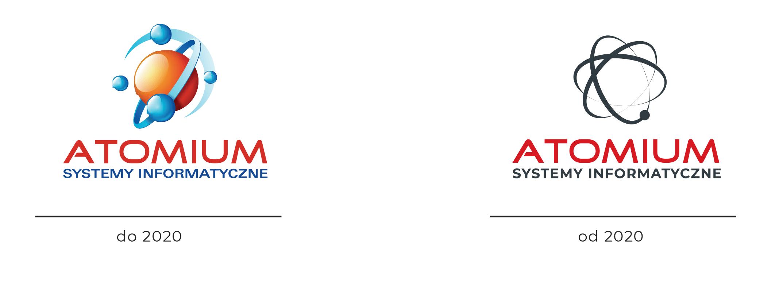 odświeżenie logo - nowe logo atomium