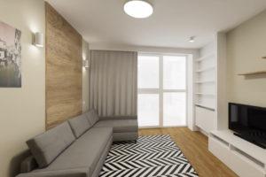 Dekoracje do salonu - projekt mieszkania