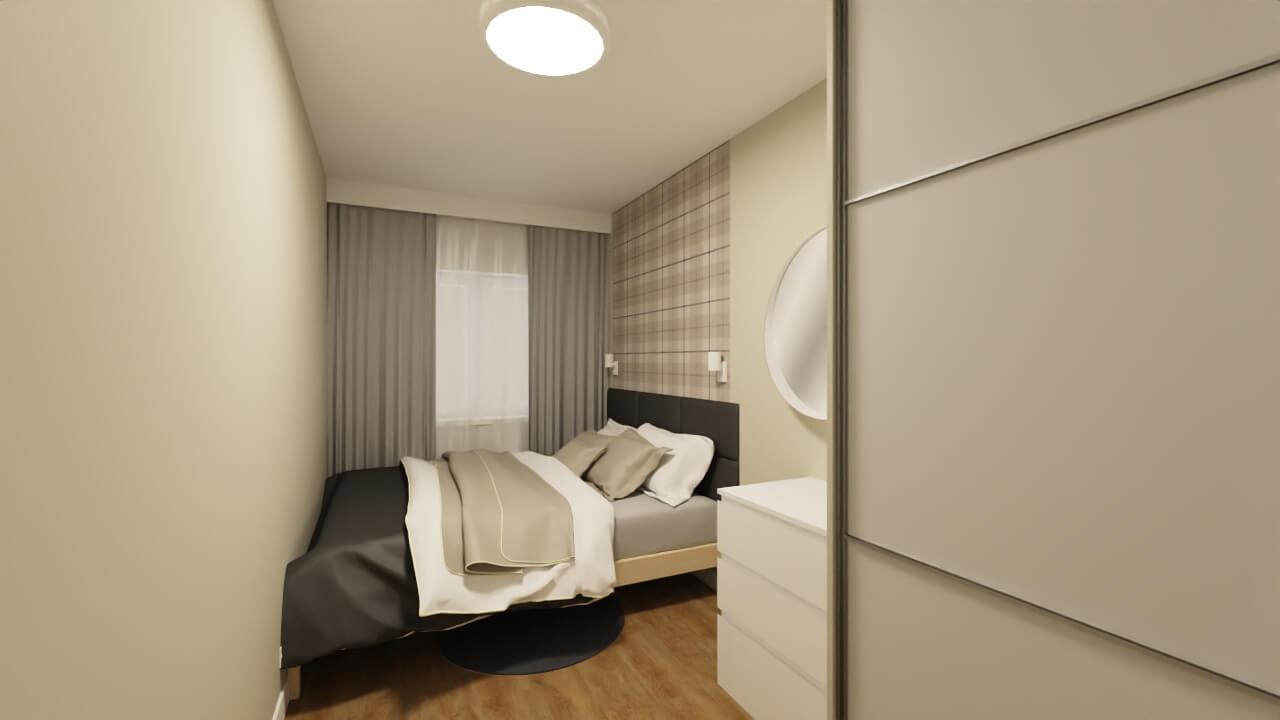 Projekt sypialni z tapetą: tapeta do sypialni
