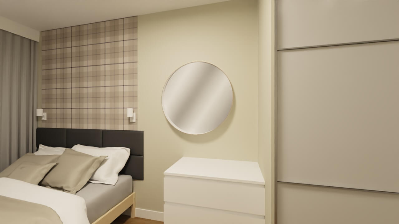 Projekt sypialni: Projekt sypialni