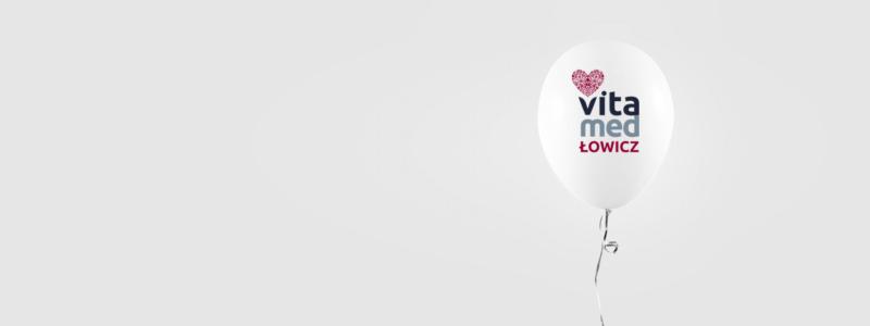 projekt logo przychodni vitamed