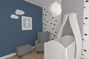 pokój niemowlęcy dla chłopca
