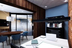 Projekt biura - gabinet