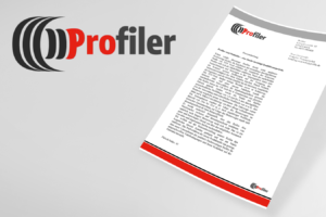 Projekt logo Profiler opony
