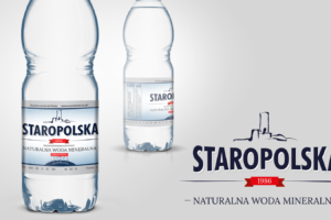Rebranding wody Staropolska - nowe logo