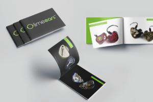 projekt katalogu Lime Ears 100 stron - prosty, elegancki katalog produktów